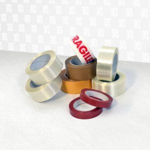 nastri speciali stampati e non in vari materiali - Prodotti per imballaggio Fibos