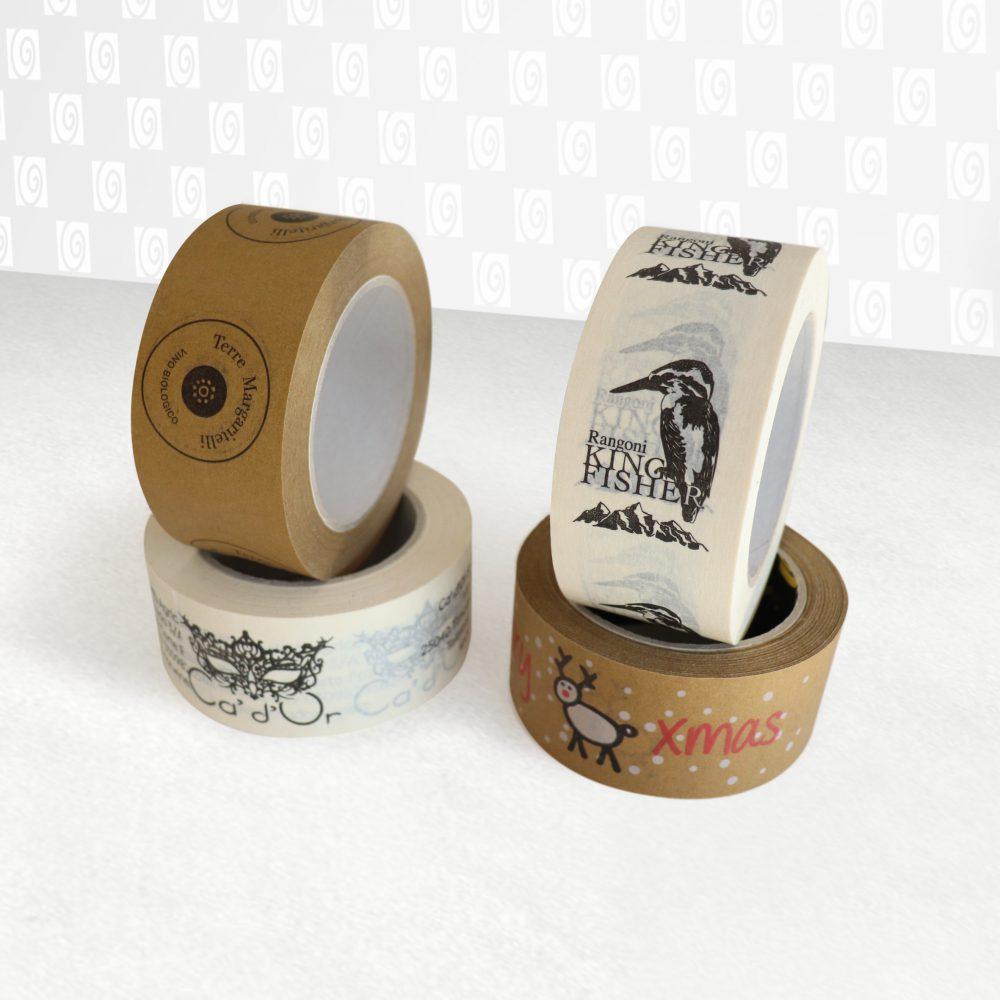 Nastri carta ecologici - Prodotti per imballaggi Fibos