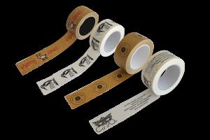 Nastri ecologici stampati personalizzati- Prodotti per imballaggi Fibos